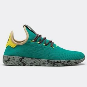 Adidas Pharrell Williams Tennis HU Teal Grey Sz 13